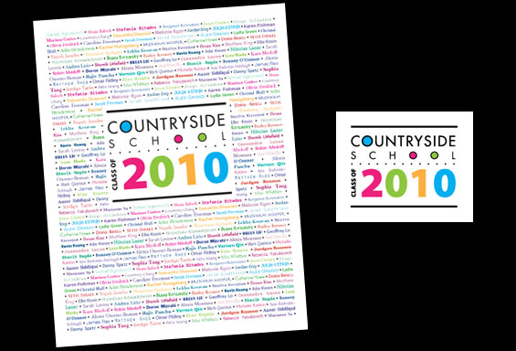 Countryside Yearbook Cover and Logo